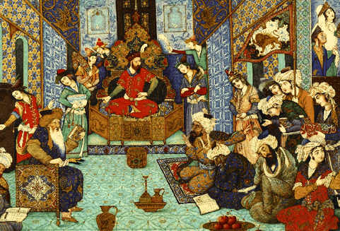 Court of Sultan Mahmud
