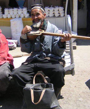 Tajik minstrel