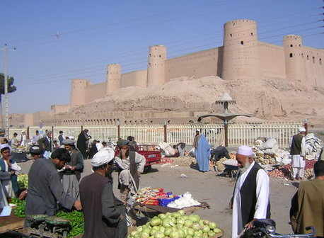 the citadel of Herat, Afghanistan