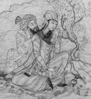 Persian poet and lover