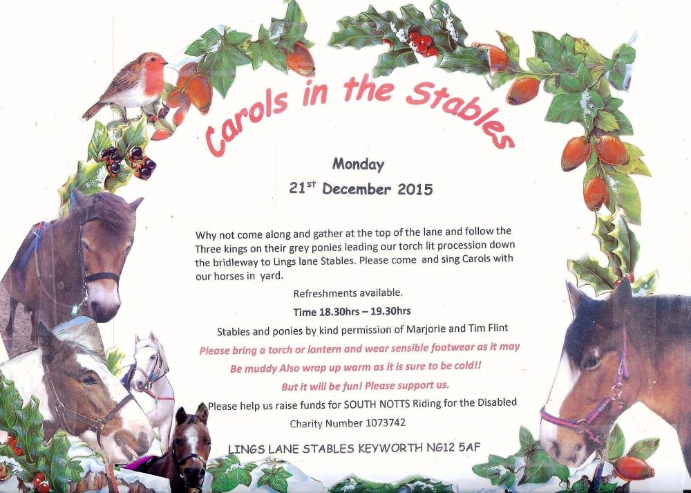carols in the stables final poster 2015 001