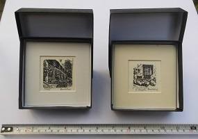 Wood engravings, boxed 2015