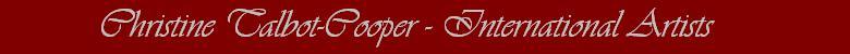Christine Talbot-Cooper -  International Artists, site logo.