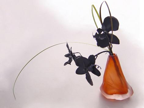 slate paperweight vase