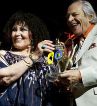 Breconjazz award dame clio lane & sir Jonny Dankworth 08