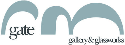 Gate Gallery & Glassworks, site logo.