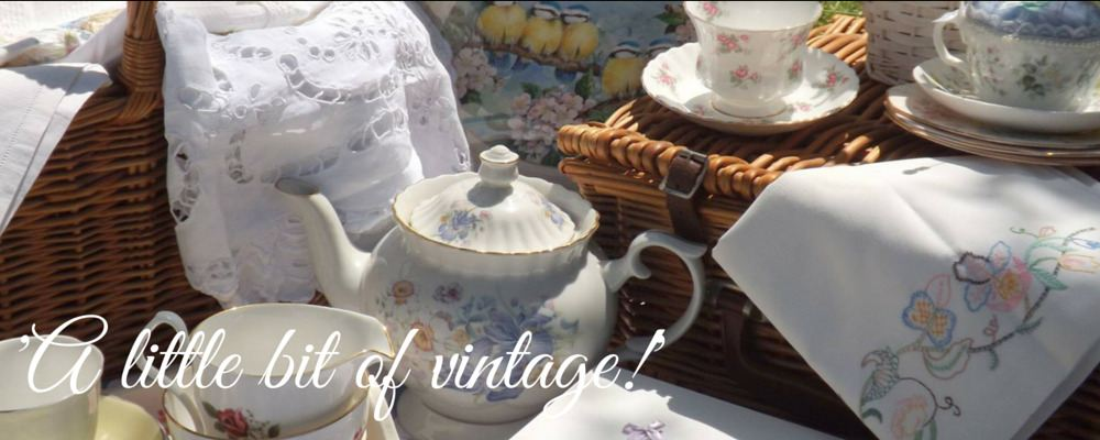Vintage Treasures at The Cottage Heart!