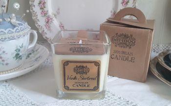 Eco-Friendly Soy Wax Jar Candle - Vanilla Shortbread