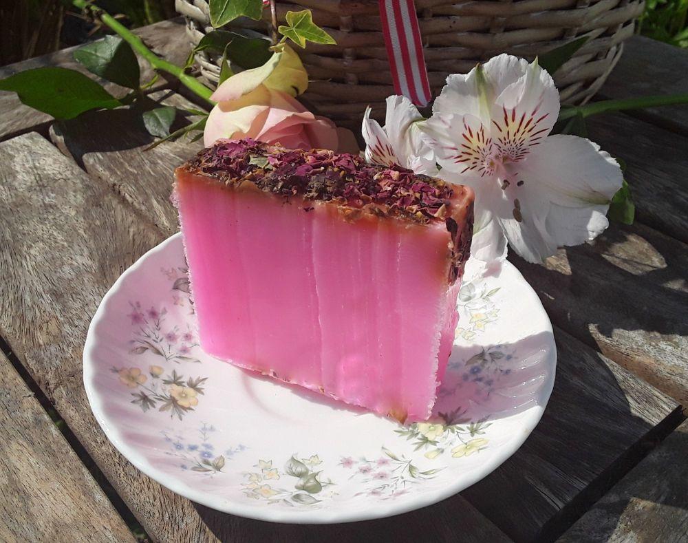 Rose & Rose Petals Soap