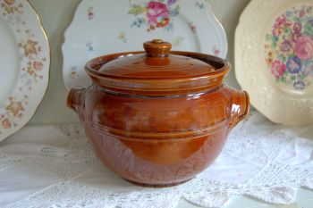 Vintage Treacle Glaze Pearsons of Chesterfield Casserole Dish