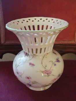 Vintage Regal Porcelain Creamware Vase