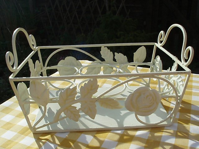 Vintage Herb or Flower Basket