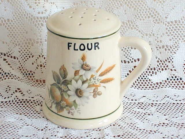 Vintage Brixham Pottery Flour Sifter