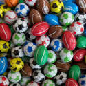 Chocolate Footballs - 120g