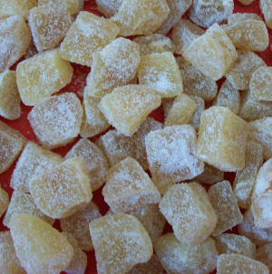 Crystallized Ginger -120g