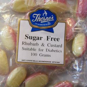 Thorne's Rhubarb & Custard - 100g