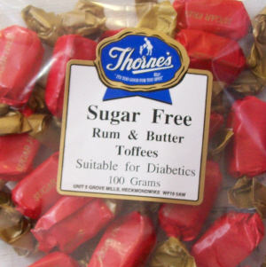 Thorne's Rum & Butter Toffee - 100g