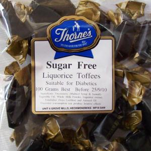 Thorne's Liquorice Toffee - 100g