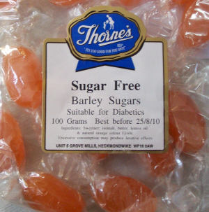 Thorne's Barley Sugar - 100g