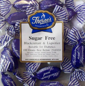 Thorne's Blackcurrant & Liquorice - 100g