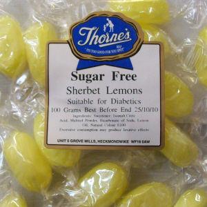 Thorne's Sherbet Lemons - 100g