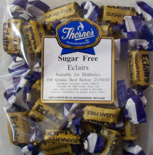 Thorne's Eclairs - 100g