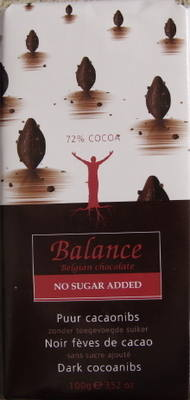 Balance Dark Chocolate with Cocoanibs- 100g