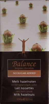 Balance Milk Chocolate & Hazelnuts - 100g