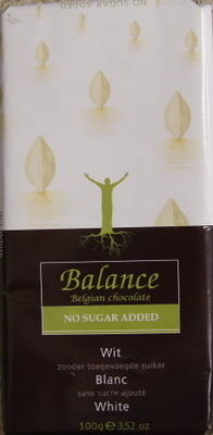 Balance White Chocolate with Vanilla - 100g