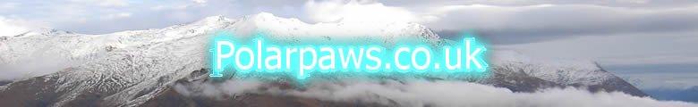 www.Polarpaws.co.uk, site logo.