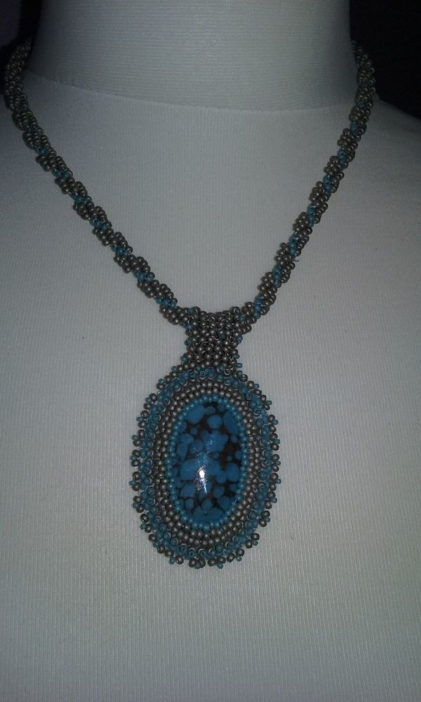 cabochon turq and silver 2
