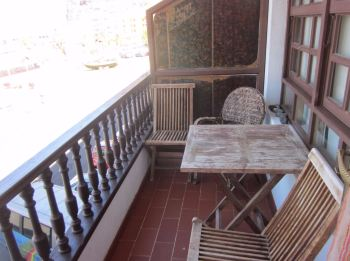 balcony orion tazacorte self-catering apartment la palma