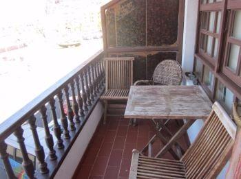 balcony orion tazacorte self-catering apartment la palma