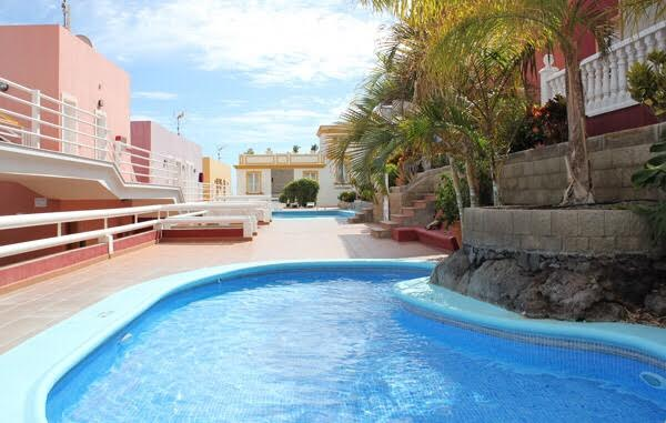rental apartment with swimming pool ideal for Christmas and New year Holidays on La Palma canaries