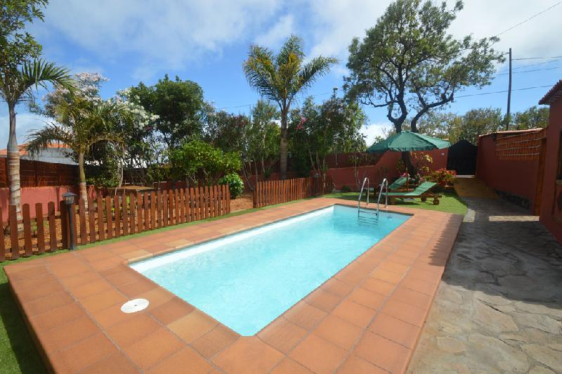 house with swimming pool puntagorda la palma
