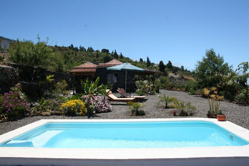 holiday house with private pool la palma canaries spain