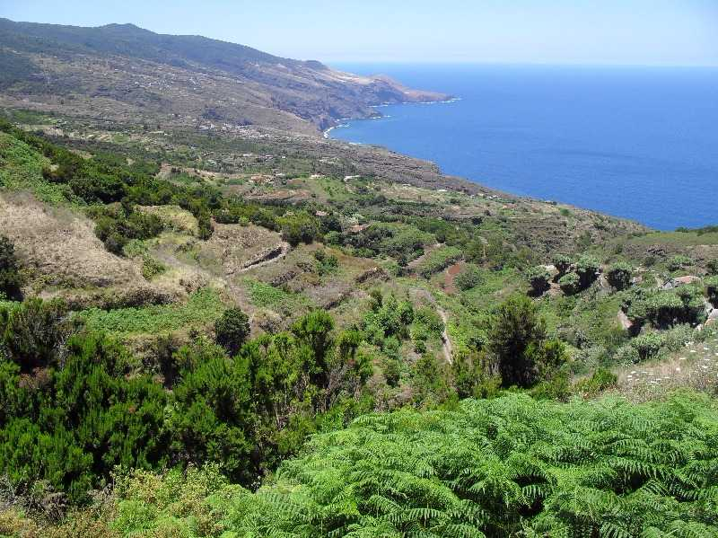 north of la palma from la tosca mirador barlovento