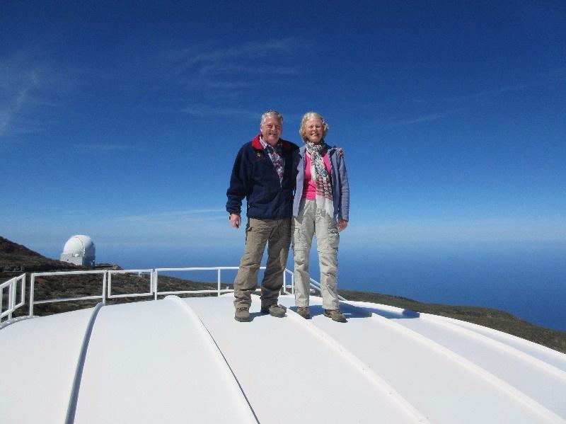 Roque de Muchachos telescope