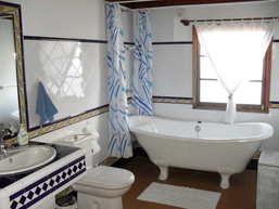 casita bathroom, rural house to rent, Franceses, Garafia, La Palma
