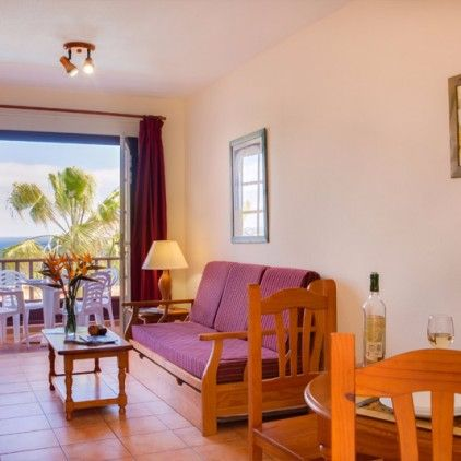 Lounge of self-catering apartments Los Cancajos