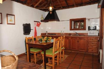 Casa Rincon El Paso kitchen self-catering Holiday cottage la Palma