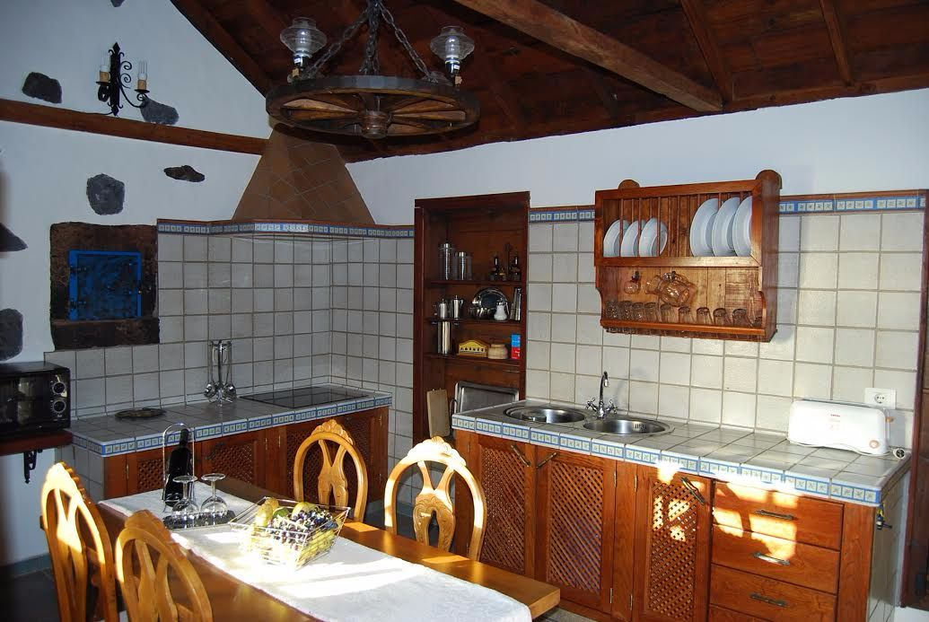 Self-catering kitchen rural cottage garafia