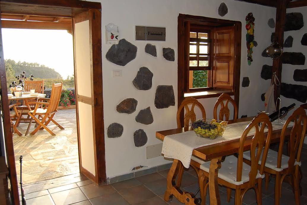 Holiday cottage garafia north la palma