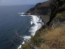 gr130 day 2 playa nogales lapalma trekking