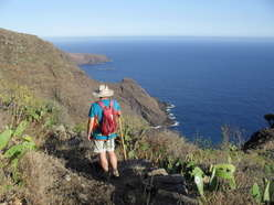 GR130 route from el tablado, la palma, canary islands