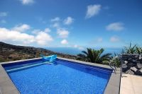Villa Buena Vista heated swimming pool la palma canary islands spain