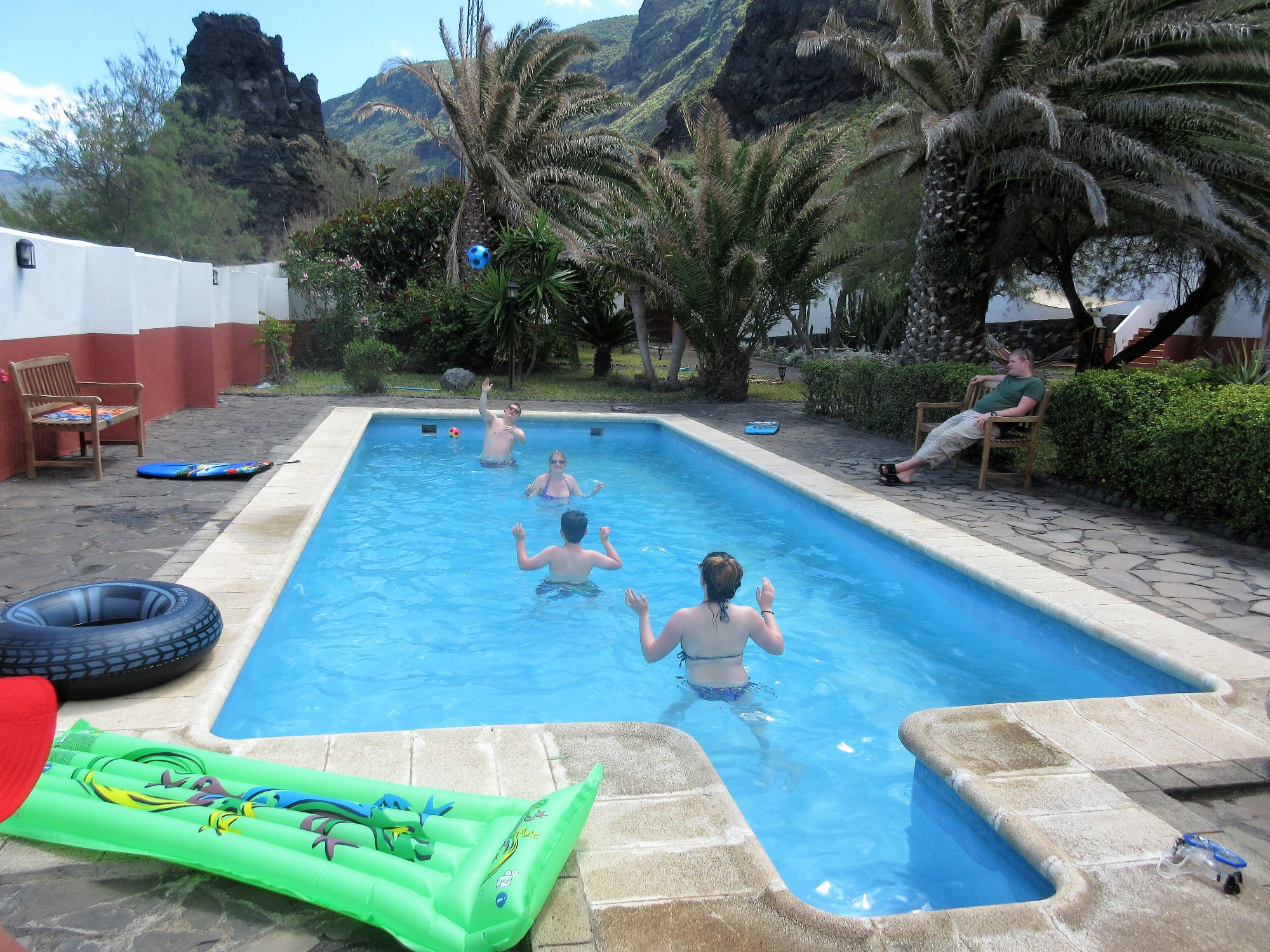 5 x apartments with pool by the sea, Franceses Garafia la Palma