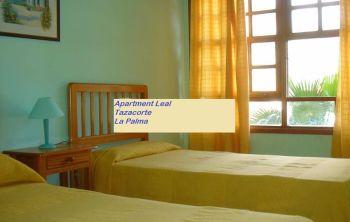 apartment leal Tazacorte bedroom 1
