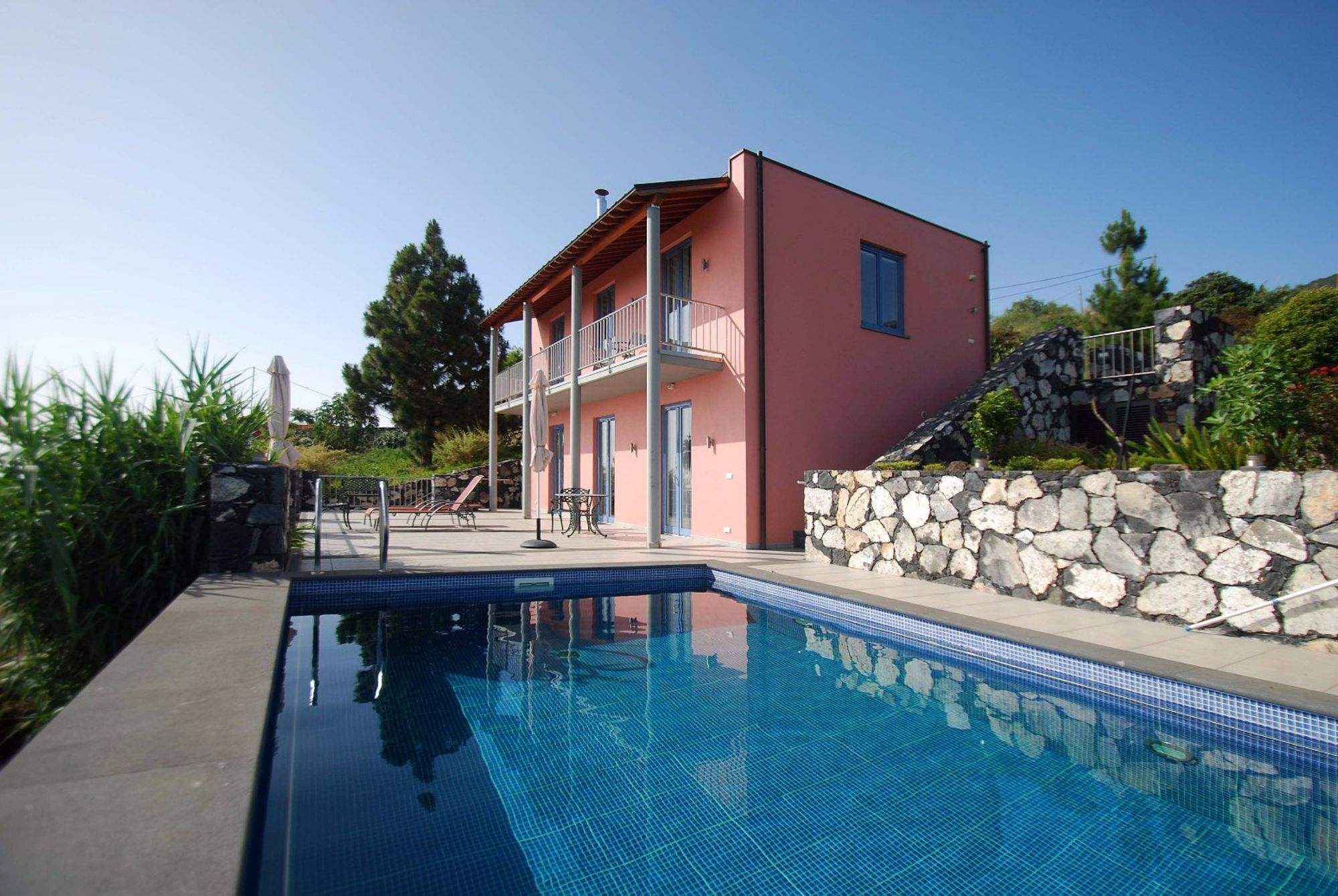 luxury villa with heated swimming pool la palma canary islands