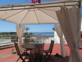 holiday villa with pool tazacorte
